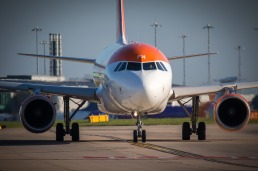 Easyjet Airbus A319 at Manchester Airport