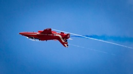 Red Arrows at the Royal International Air Tattoo